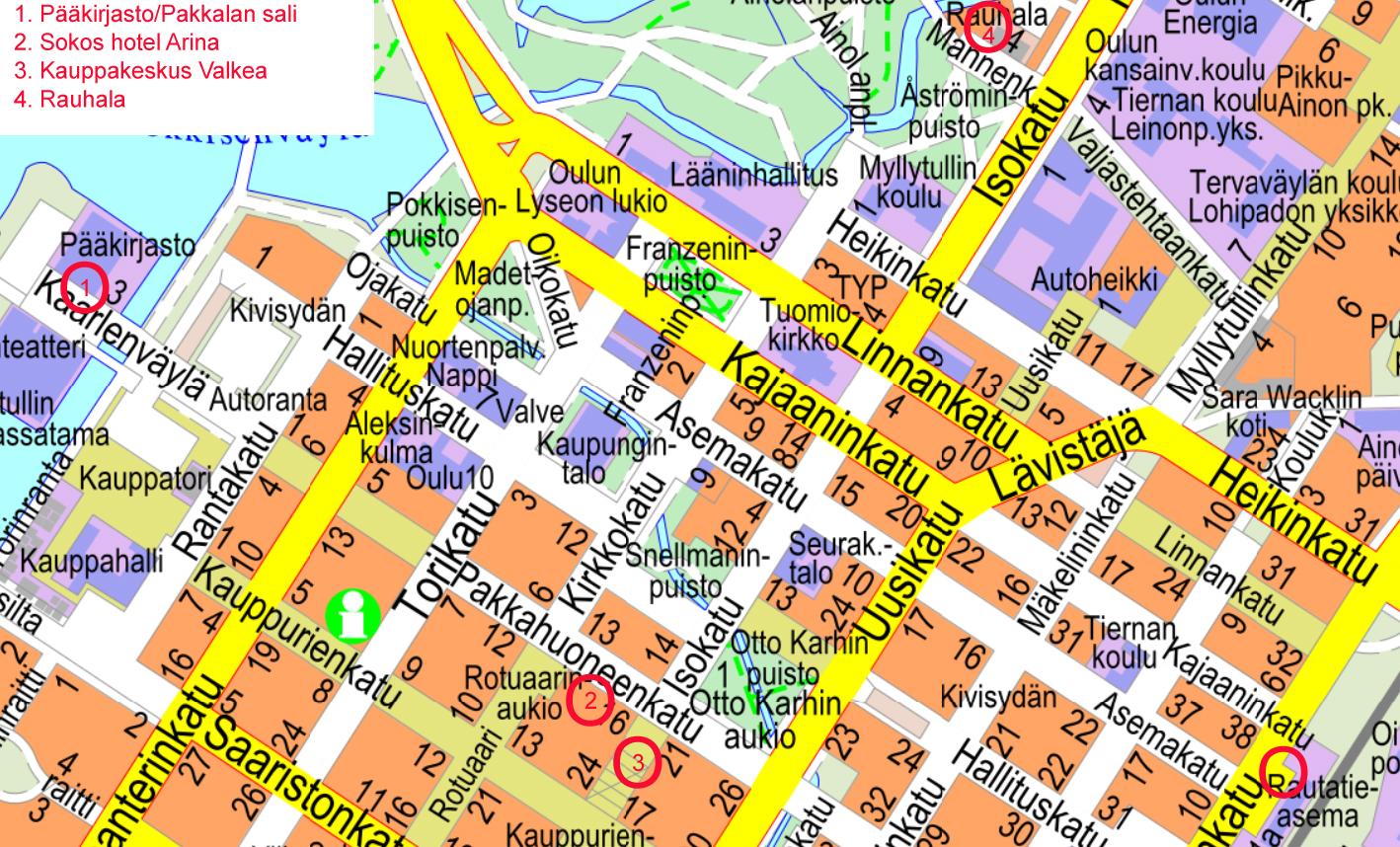 Suhon Kesapaivat Oulussa 2019 Yhteystiedot
